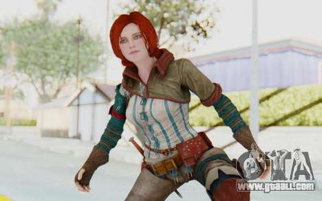 The Witcher 3 - Triss Merigold WildHunt Outfit for GTA San Andreas