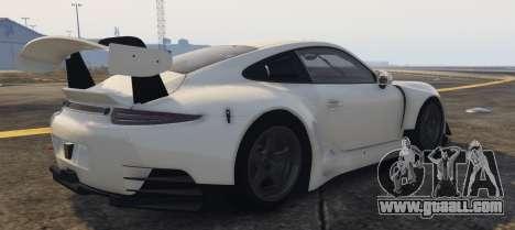 GTA 5 Porsche RUF RGT-8 GT3 left side view