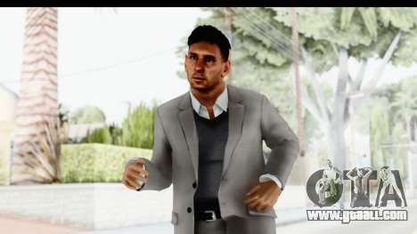 Messi Formal Fixed Up for GTA San Andreas