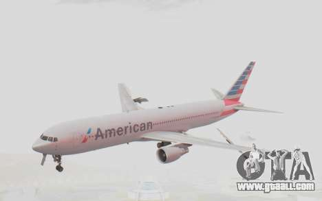 Boeing 767-300ER American Airlines for GTA San Andreas