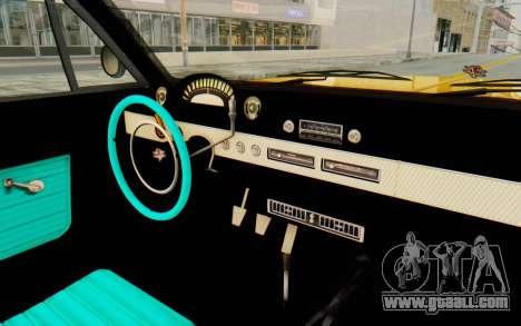 GTA 5 Declasse Voodoo PJ SA Lights for GTA San Andreas inner view