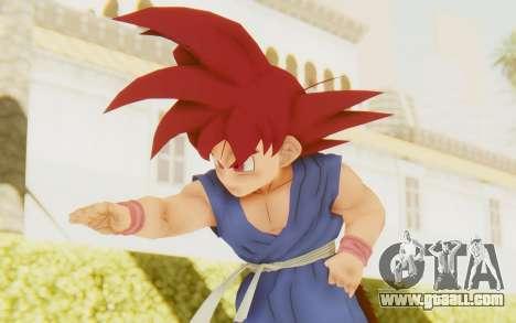 Dragon Ball Xenoverse Goku Kid GT SSG for GTA San Andreas