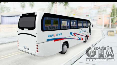 Neoplan Lasta Bus for GTA San Andreas back left view