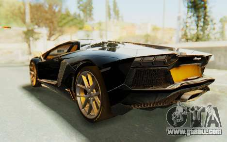 Lamborghini Aventador LP700-4 Light Tune for GTA San Andreas left view