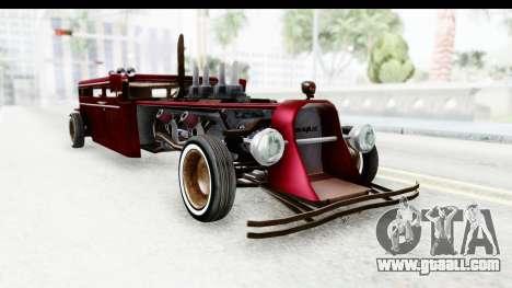Unique V16 Fordor Ratrod for GTA San Andreas right view