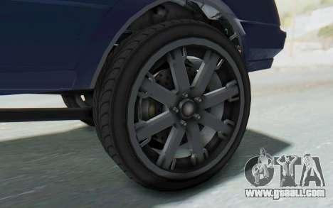 GTA 5 Willard Faction Custom Donk v3 IVF for GTA San Andreas back view