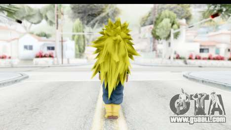 Dragon Ball Xenoverse Future Trunks SSJ3 for GTA San Andreas third screenshot