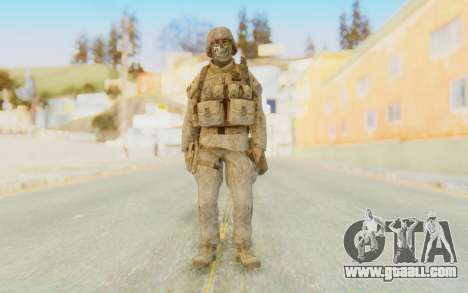 CoD MW2 Ghost Model v4 for GTA San Andreas second screenshot