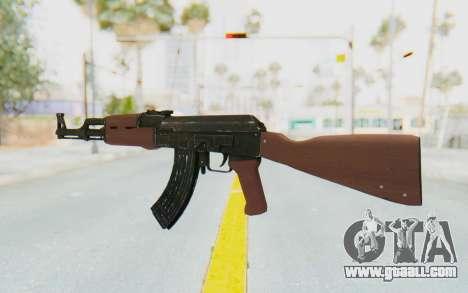 GTA 5 Shrewsbury Assault Rifle for GTA San Andreas third screenshot