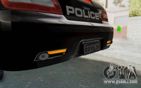 ASYM Desanne XT Pursuit v2 for GTA San Andreas interior