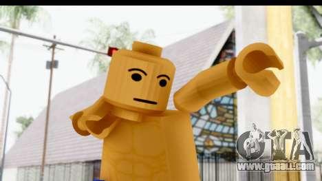 LEGO Carl Johnson for GTA San Andreas