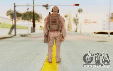 CoD MW2 Ghost Model v2 for GTA San Andreas third screenshot
