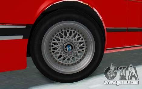 BMW M635 CSi (E24) 1984 IVF PJ2 for GTA San Andreas right view