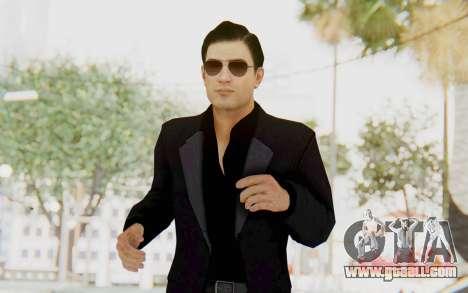 Mafia 2 - Vito Scaletta Madman Suit Black for GTA San Andreas