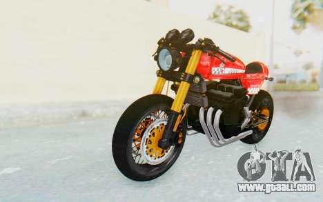 Honda CB750 Moge Cafe Racer for GTA San Andreas back left view