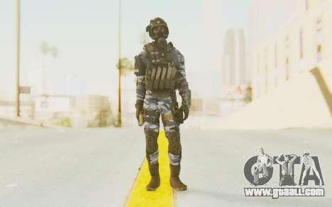 Federation Elite SMG Urban-Navy for GTA San Andreas second screenshot