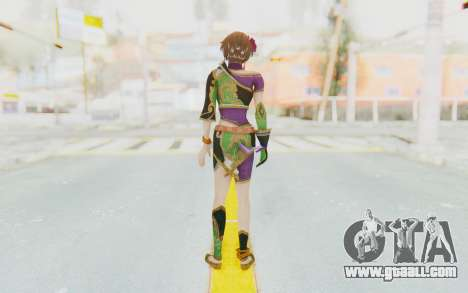Musou Orochi 2: Ultimate - Sun Shangxiang v2 for GTA San Andreas third screenshot