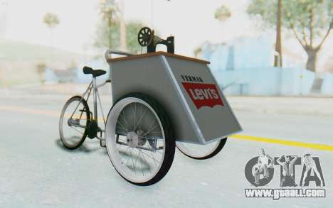 Vermak Levis for GTA San Andreas right view