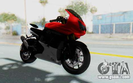 Kawasaki Ninja 250R Superbike for GTA San Andreas right view