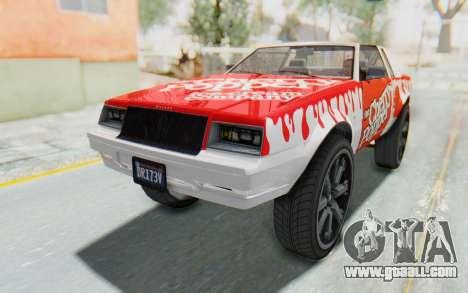 GTA 5 Willard Faction Custom Donk v2 for GTA San Andreas upper view