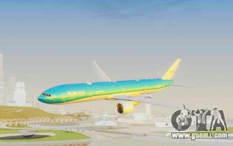 Boeing 777-300ER KLM - Royal Dutch Airlines v2 for GTA San Andreas