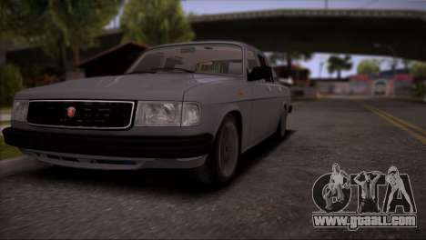 V8 GAS 31029 for GTA San Andreas side view