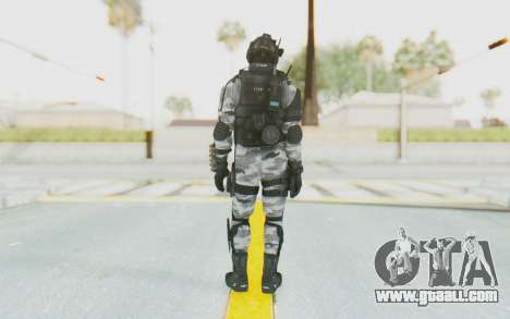 Federation Elite Shotgun Arctic for GTA San Andreas third screenshot