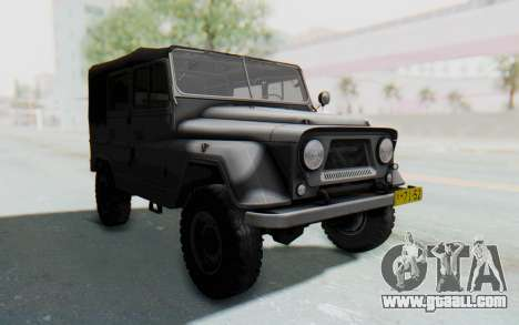 UAZ-460Б for GTA San Andreas right view