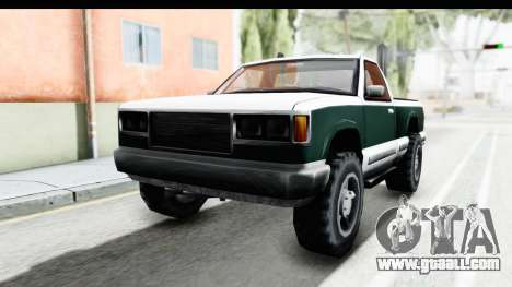 Yosemite Truck for GTA San Andreas back left view