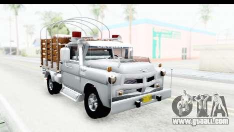 Chevrolet 3100 Diesel v2 for GTA San Andreas right view