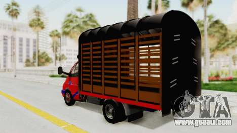 GAZelle 33021 Stylo Colombia for GTA San Andreas left view