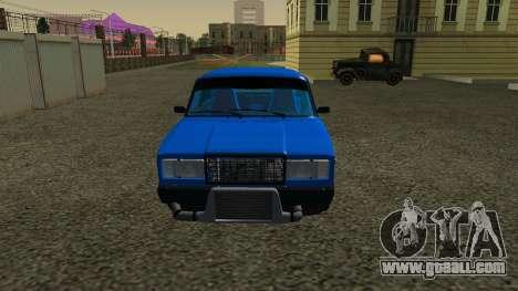 VAZ 2107 Sport for GTA San Andreas left view