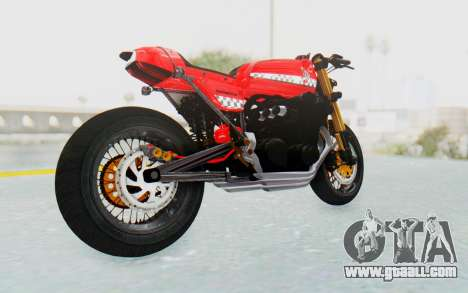 Honda CB750 Moge Cafe Racer for GTA San Andreas right view