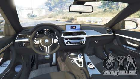 GTA 5 BMW M4 2015 v0.01 right side view