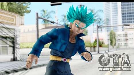 Dragon Ball Xenoverse Future Trunks SSGSS for GTA San Andreas
