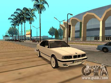 BMW E34 - EK edition for GTA San Andreas left view