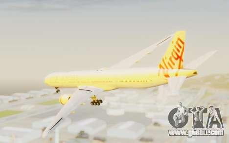 Boeing 777-300ER Virgin Australia v2 for GTA San Andreas left view