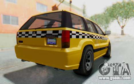 Canis Seminole Taxi for GTA San Andreas left view