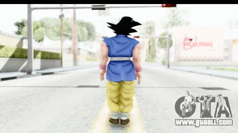 Dragon Ball Xenoverse Goku GT Adult SJ for GTA San Andreas third screenshot