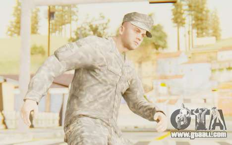 Military Casual Outfit for GTA San Andreas