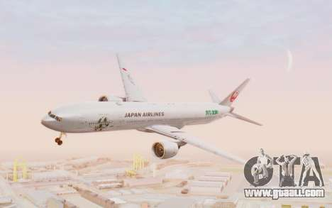 Boeing 777-300ER Japan Airlines v1 for GTA San Andreas back left view