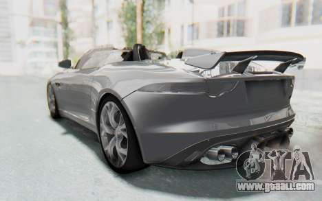 Jaguar F-Type Project 7 for GTA San Andreas right view