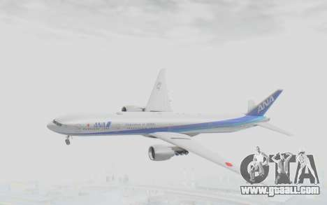 Boeing 777-300ER ANA JA735A for GTA San Andreas