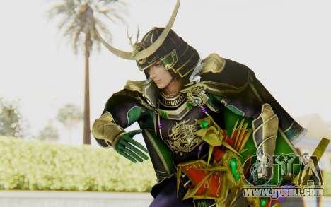 Sengoku Musou 4 - Date Masamune for GTA San Andreas