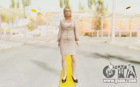 Dead Rising - Jessica McCartney for GTA San Andreas second screenshot
