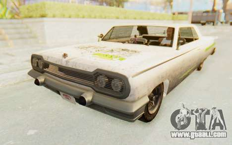 GTA 5 Declasse Voodoo PJ SA Lights for GTA San Andreas side view