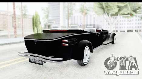 Unique V16 Phaeton VIP for GTA San Andreas left view