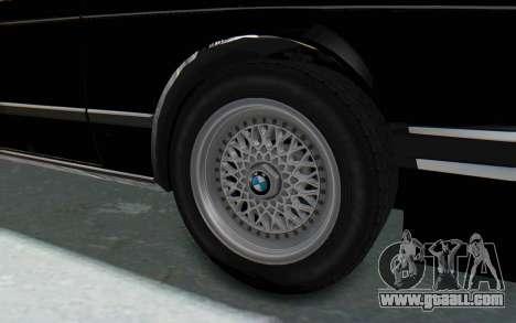 BMW M635 CSi (E24) 1984 IVF PJ3 for GTA San Andreas back view