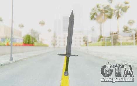 Trunks Del Futuro Katana for GTA San Andreas second screenshot