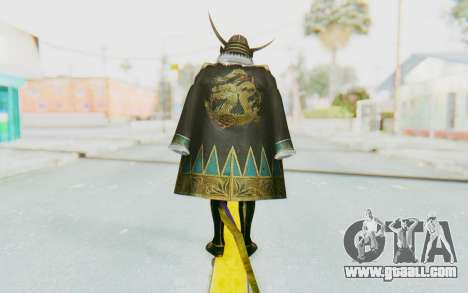 Sengoku Musou 4 - Date Masamune for GTA San Andreas third screenshot